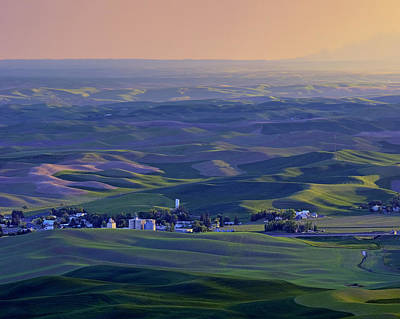 Photograph - Palouse Sunset - Cashup - Washington by Nikolyn McDonald