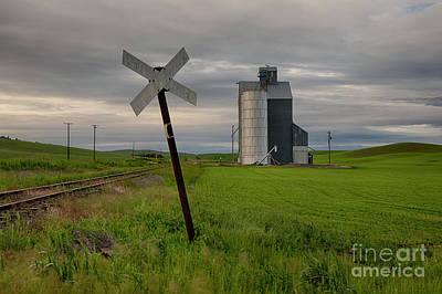 Photograph - Palouse Ttracks by Idaho Scenic Images Linda Lantzy