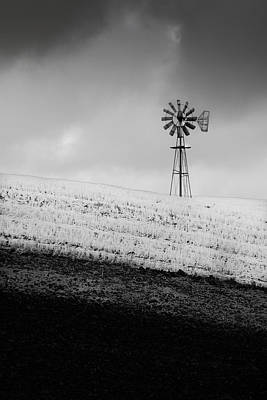 Photograph - Palouse Windmill by Roger Mullenhour