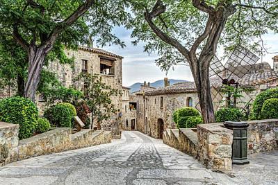 Girona Photograph - Pals Medieval Village by Marc Garrido