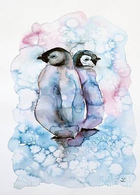Painting - Pals by Zaira Dzhaubaeva