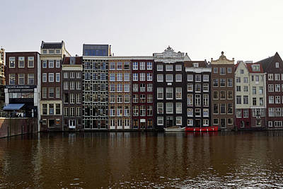 Photograph - Pancakes And Apartements. Amsterdam by Jouko Lehto