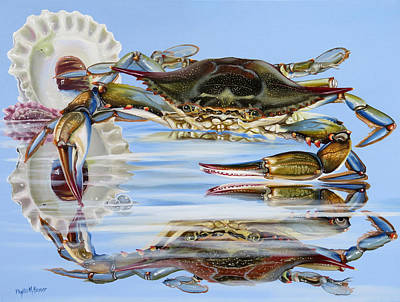 Painting - Pammy's Crab by Phyllis Beiser