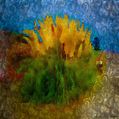 Art Print featuring the photograph Pampas Grass by Iowan Stone-Flowers