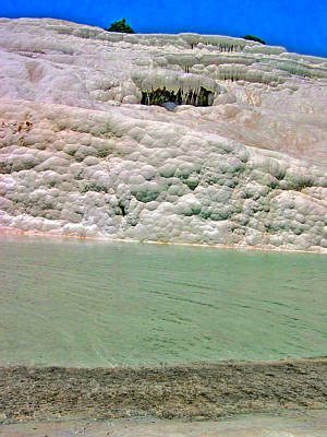 Pamukkale. Texture. Original by Andy Za