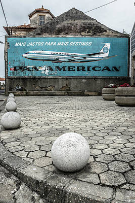 Meatball Photograph - Pan American Vintage Ad by Marco Oliveira