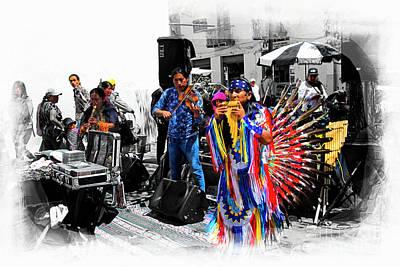Pan Flutes In Cuenca Art Print by Al Bourassa