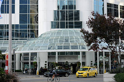 Photograph - Pan Pacific Hotel Vancouver by Connie Fox
