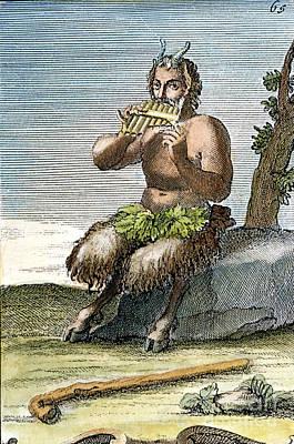 Pan, The Nature-god Art Print by Granger