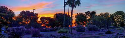 Photograph - Pana Dry Pond Sunrise by Kimo Fernandez