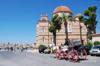 Photograph - Panagitsa Church In Aegina by David Fowler
