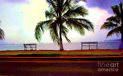 Amador Painting - Panama Amador Causeway by Nereida Slesarchik Cedeno Wilcoxon