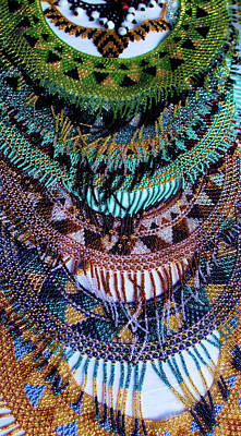 Photograph - Panama Bead Work by Douglas Pike