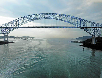 Photograph - Panama Canal 1 by Ron Kandt