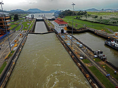 Photograph - Panama Canal 2 by Ron Kandt