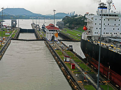 Photograph - Panama Canal 3 by Ron Kandt