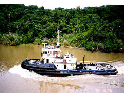 Photograph - Panama Canal - Passing By by Merton Allen