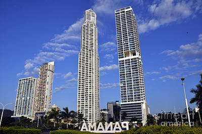 Photograph - Panama City 6 by Andrew Dinh