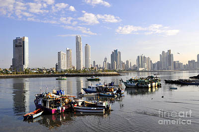 Photograph - Panama City 8 by Andrew Dinh