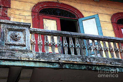 Photograph - Panama City Balcony by John Rizzuto