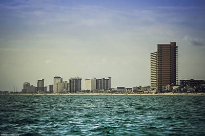 Photograph - Panama City Beach Coastline 2 by Debra Forand