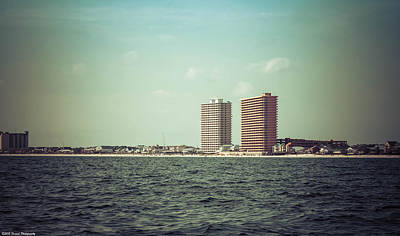 Photograph - Panama City Beach Coastline by Debra Forand