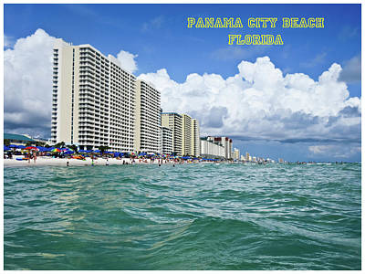 Photograph - Panama City Beach Florida by Tony Grider