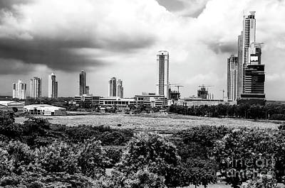 Photograph - Panama City Dimensions by John Rizzuto