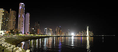 Photograph - Panama City Night by William Arenas