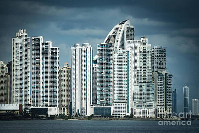 Photograph - Panama City Skyline by Joann Long
