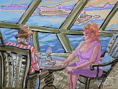 Panama Cruise At Any Age Print by Shirl Solomon