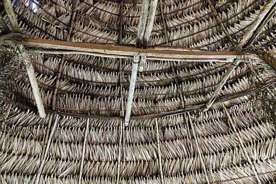 Just Desserts - Panama - Embera Hut Ceiling by Kenneth Lempert