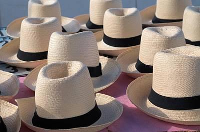 Photograph - Panama Hats 3 by Douglas Pike