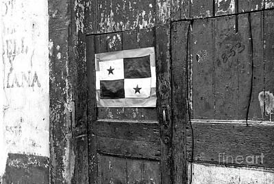 Panama Pride Mono Art Print by John Rizzuto