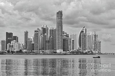 Panama Skyline Art Print