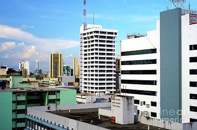 Photograph - Panama Top View by John Rizzuto