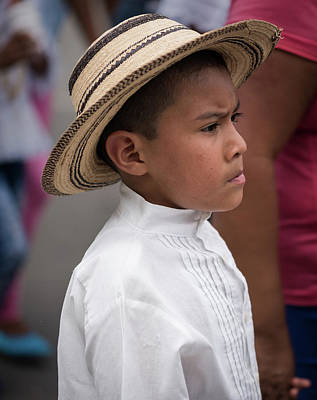 Photograph - Panamanian Boy by Tod Colbert