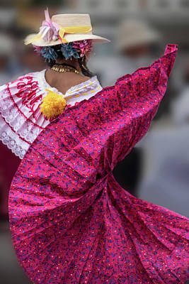 Photograph - Panamanian Dancer 2 by Tod Colbert