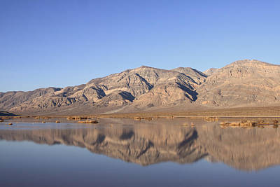 Panamint Bluff Print by Troy Montemayor