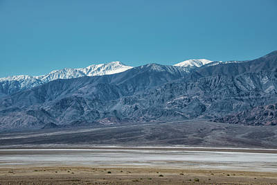 Photograph - Panamint Mtns And Salt Flats by Michael Bessler