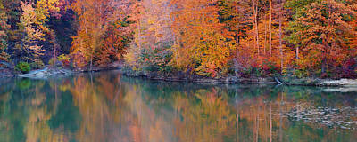 Photograph - Panaoramic Autumn Landscape by Mike Murdock