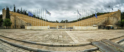 Photograph - Panathenaic Stadium by James Billings