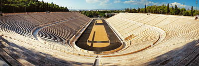 Photograph - Panathenaic Stadium Panorama by Songquan Deng