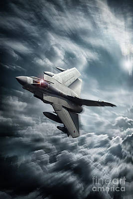 Sweeps Digital Art - Panavia Tornado Gr4 by J Biggadike