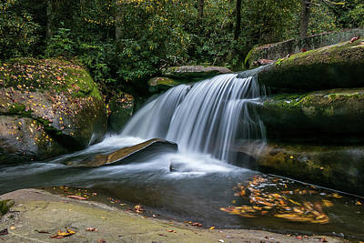 Photograph - Pancake Falls by Chris Berrier