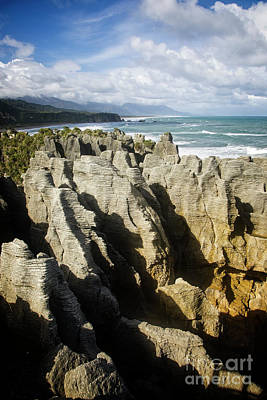 Photograph - Pancake Rocks by Scott Kemper