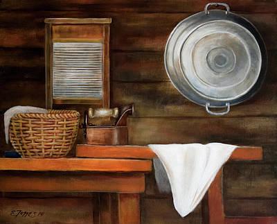 Painting - Pancha Plancha... by Edgar Torres