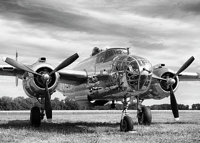 B-25 Photograph - Panchito B-25 by Peter Chilelli