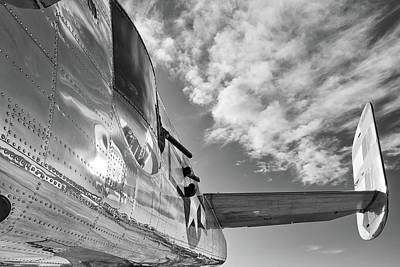 Photograph - Panchito's Tail - 2017 Christopher Buff, Www.aviationbuff.com by Chris Buff