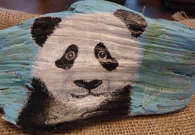 Mixed Media - Panda by Ann Michelle Swadener